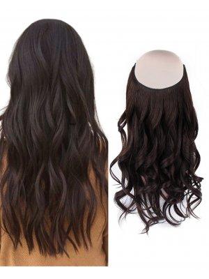 Halo Hair Extensions #2 Dark Brown 100g-120g