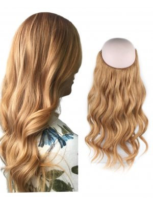 Halo Hair Extensions #27 Strawberry Blonde 100g-120g