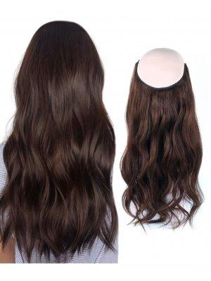 Halo Hair Extensions #3 Medium Dark Brown