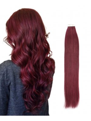 Tape In Hair Extensions #530 Merlot Color
