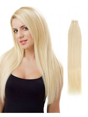 Tape In Hair Extensions #60 Ash Blonde