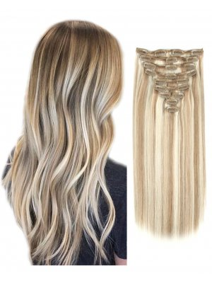220g Clip In Extensions Highlights 8/60#