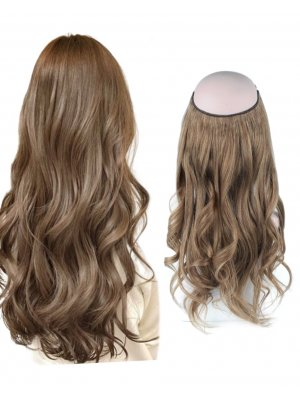 Halo Hair Extensions #8 Ash Brown 100g-120g