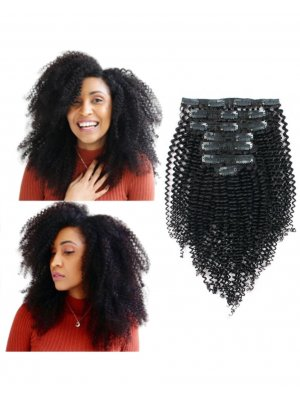 Kinky Curly 3C Clip In Hair Extensions
