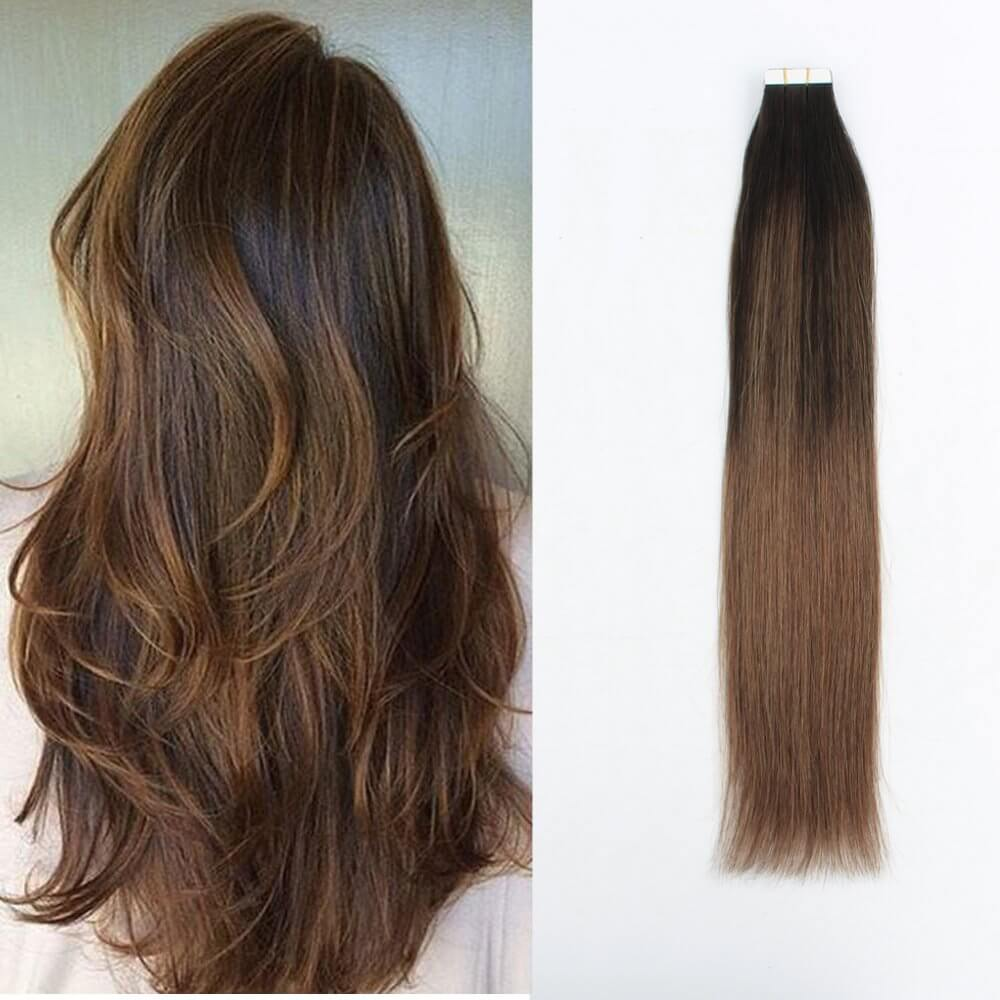 Balayage 2 6 Tape In Hair Extensions 50 Grams 20 Piecesset