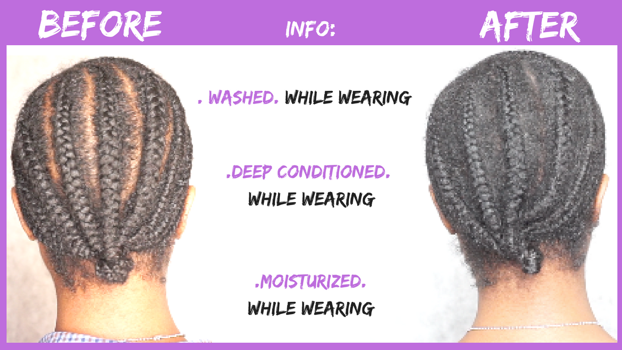 Cornrow Braids from Childhood to Adulthood and Using Them to Grow my ...