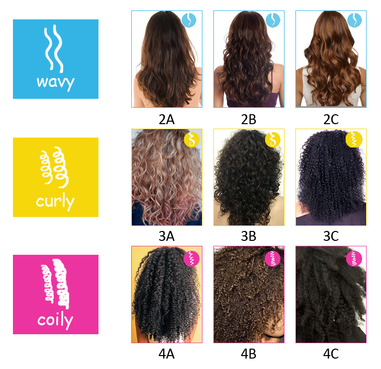 Natural Hair Types 4a 4b And 4c
